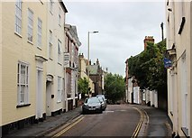 SS9512 : Tiverton: St Peter's Street, the southern end by Martin Tester