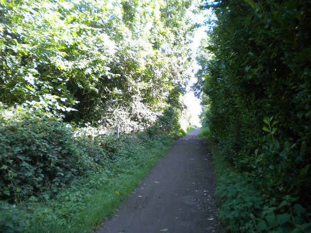 Mickleover Trail north of Etwall