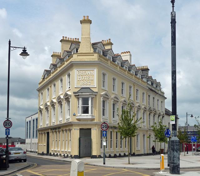 Crown Hotel, Cumberland Street, Plymouth