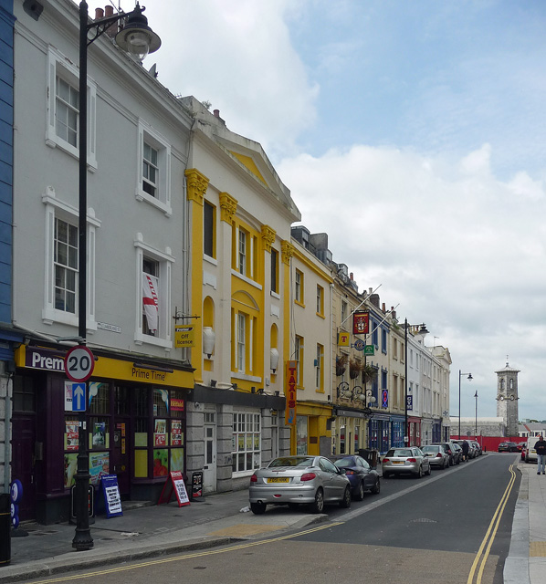 Cumberland Street, Plymouth