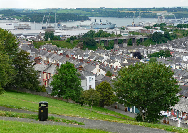 View from Mount Pleasant Blockhouse, Plymouth (2)