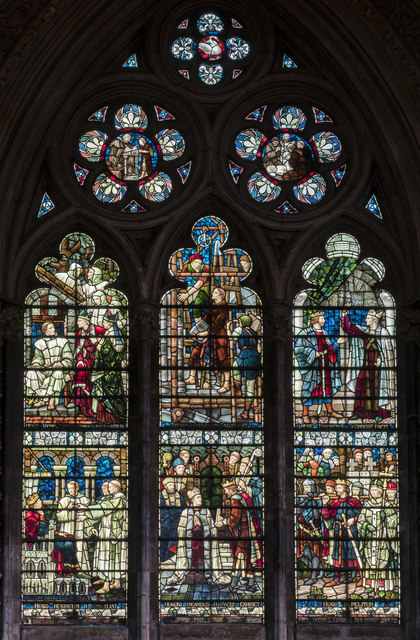Window n.IV, Lincoln Cathedral