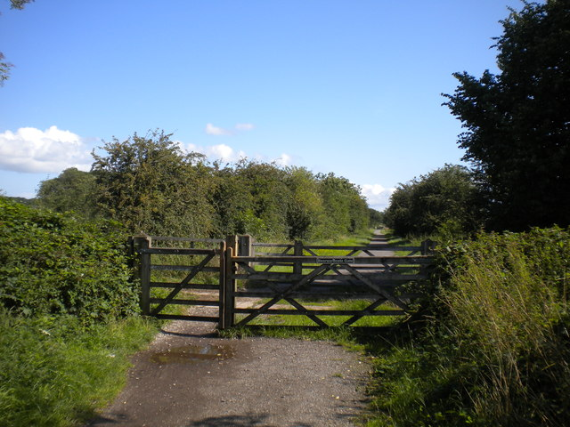 Bearwardcote Gate, Mickleover Trail west of Mickleover