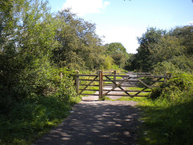 Bonehill Gate, Mickleover Trail west of Mickleover