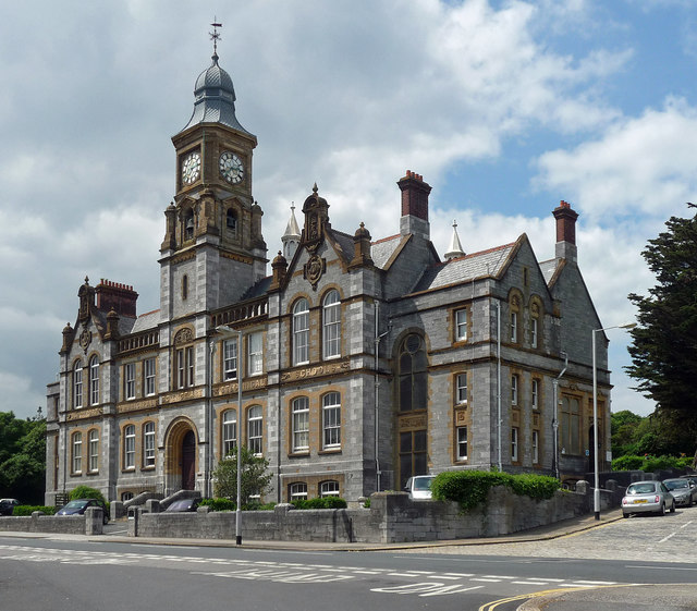 Former school, Paradise Road, Plymouth
