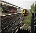 SJ3250 : Maesteg train approaching Wrexham General station by Jaggery