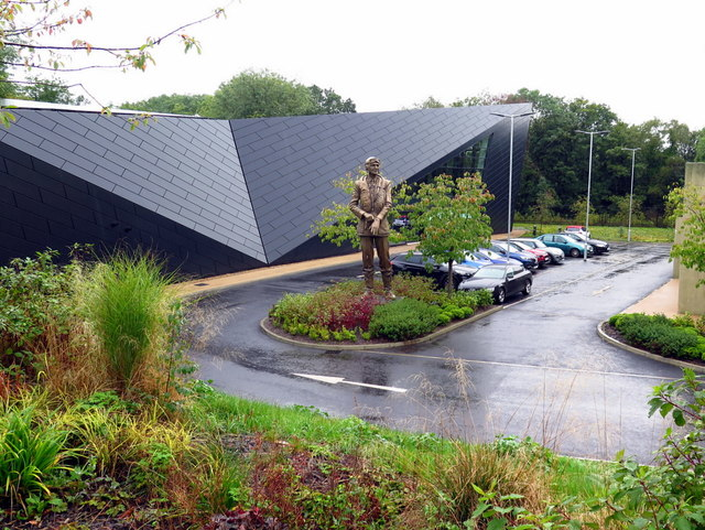 Statue of Sir Keith Park, Visitor Centre, Battle of Britain Bunker, Uxbridge