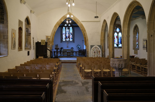 Church of Saint Mary, Berrow: Pews and chairs
