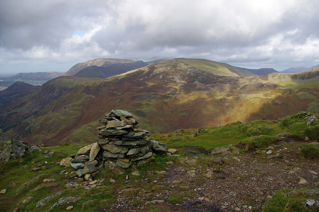 Cairn on Fleetwith Pike
