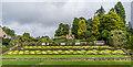 NU0602 : Floral display, Formal Garden, Cragside by Ian Capper