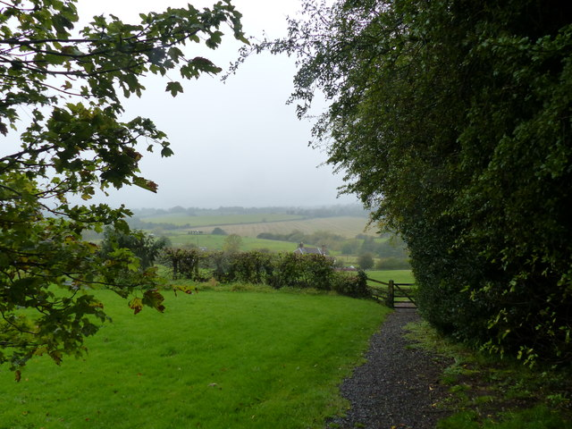 View from Tardebigge churchyard