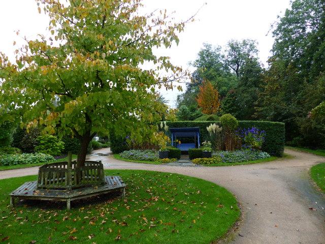 Garden at Webbs of Wychbold garden centre