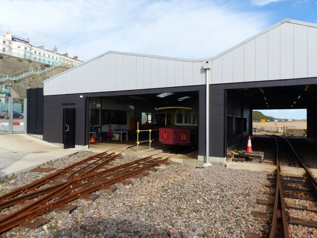 Train sheds, Volks Electric Railway, Brighton