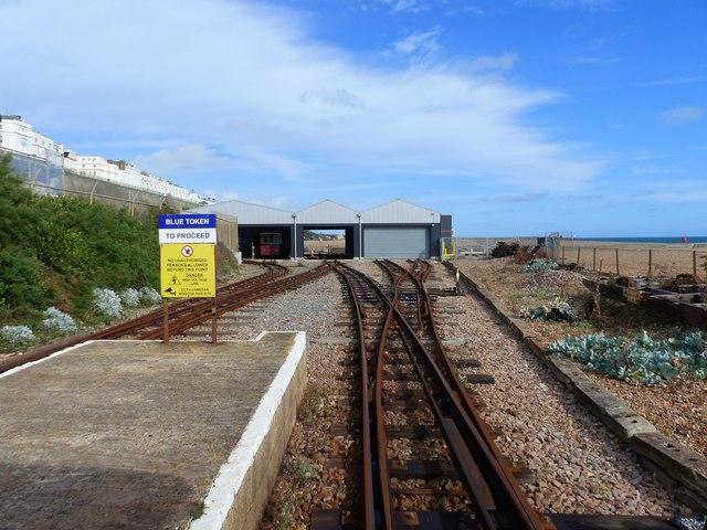 Halfway Station, Volks Electric Railway, Brighton