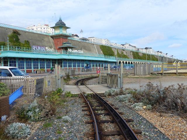 Level crossing, Volks Electric Railway, Brighton