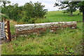 NY1551 : Northeast parapet of Kingshillside Bridge by Roger Templeman