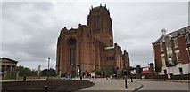 SJ3589 : Cathedral Church of Christ, Liverpool by Christine Matthews