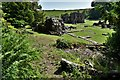 SD2171 : Furness Abbey: The Abbot's House and abbey beyond by Michael Garlick