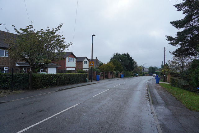 Recycling day on Rushy Lane \u00a9 Malcolm Neal :: Geograph ...