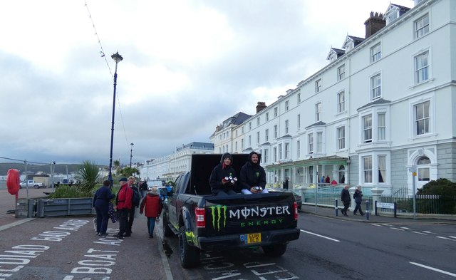 Monster Energy by The Esplanade by Gerald England