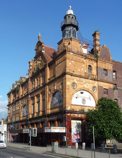 Former theatre, Union Street, Plymouth