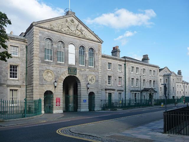 Royal Marine Barracks, Durnford Street, Plymouth