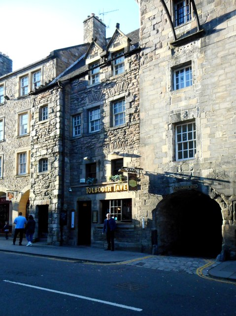 Tolbooth Tavern, Canongate