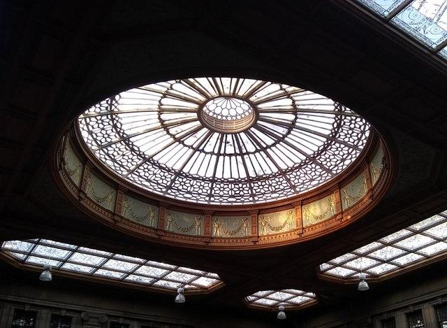The old booking hall, Edinburgh Waverley Station