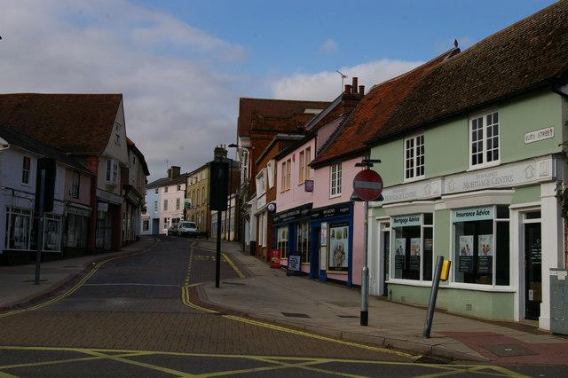 Bury Street, Stowmarket