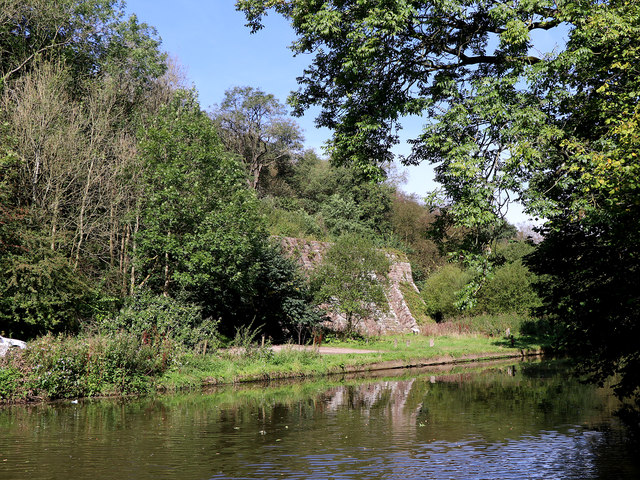 River Churnet at Consallforge in Staffordshire