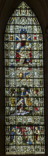 Window s.XVII, Lincoln Cathedral