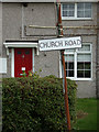 TL9228 : Church Road sign by Adrian Cable