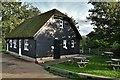 TL2872 : Houghton Mill: National Trust tearoom by Michael Garlick