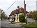 TL9231 : The Crown Public House, Wormingford by Adrian Cable