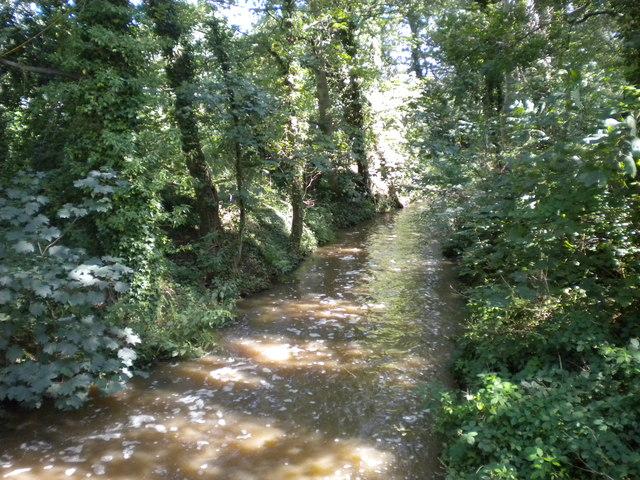 Stream through Markeaton Park