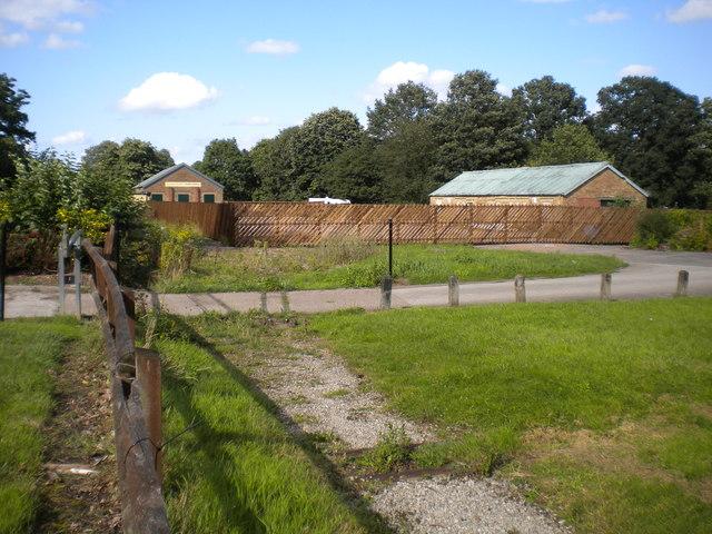 Remains of the Markeaton Park Light Railway (1)