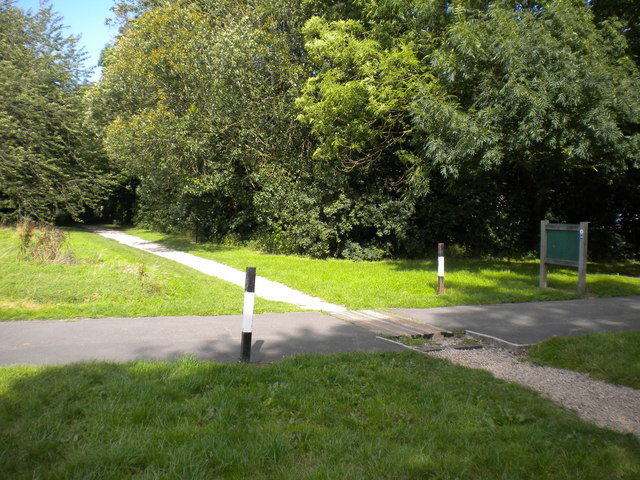 Remains of the Markeaton Park Light Railway (2)