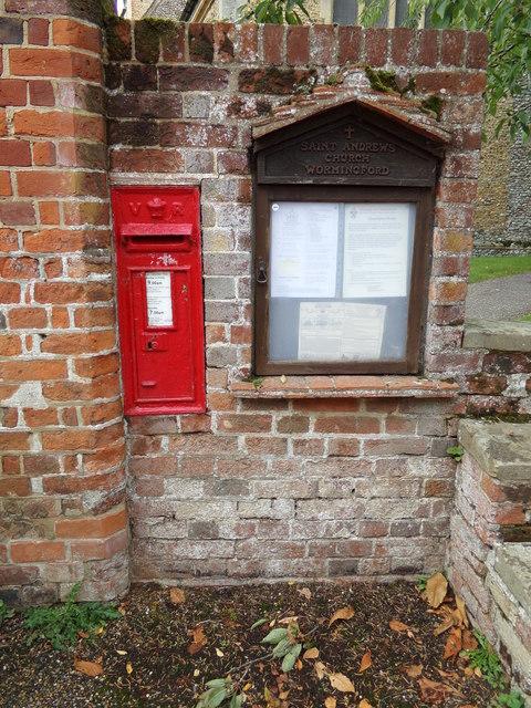 Wormingford Church Victorian Postbox