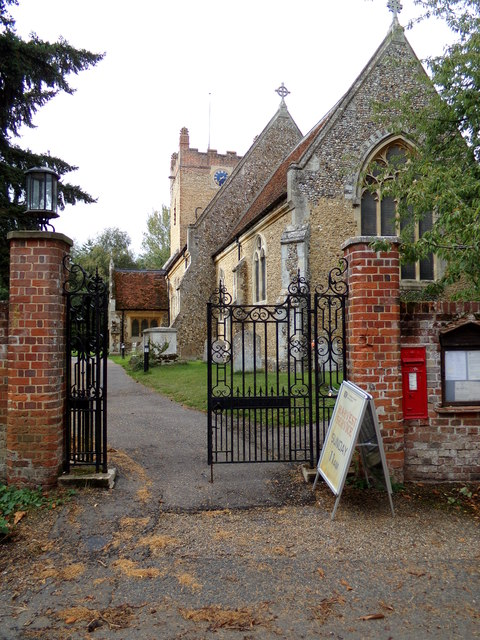 Entrance to St. Andrew's Church