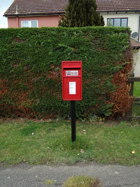 Wormingford Post Office Postbox