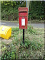 TL9132 : Peartree Hill Postbox by Adrian Cable