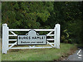 TL9034 : Bures Hamlet Village Name sign on Lamarsh Hill by Geographer
