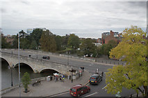 TL0549 : Bedford Bridge from the Swan Hotel by Richard Dorrell