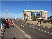 SY6878 : Weymouth Pavilion and Jurassic Skyline by Tom Pocock