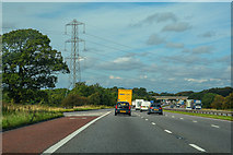 SD5052 : Forton : M6 Motorway by Lewis Clarke