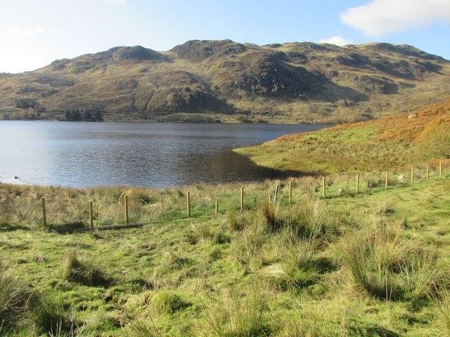 Inlet in Glen Finglas Reservoir