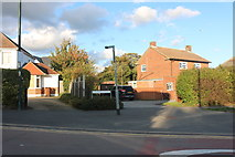 TQ7471 : Houses on Higham Road, Wainscott by David Howard