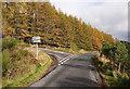 NH5535 : Abriachan junction by Craig Wallace