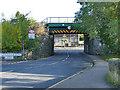 SE3110 : Church Street railway bridge, Darton by Stephen Craven