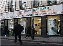 TQ3384 : Sheer Bliss beauty salon on Dalston Junction by David Howard